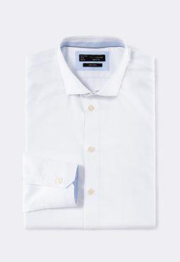 חולצה מכופתרת בד כותנה
