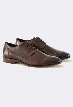 נעלי דרבי עור במראה אלגנט