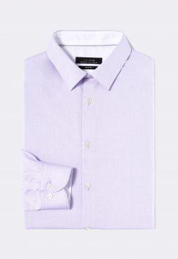 חולצה מכופתרת בגזרת regular מבד כותנה