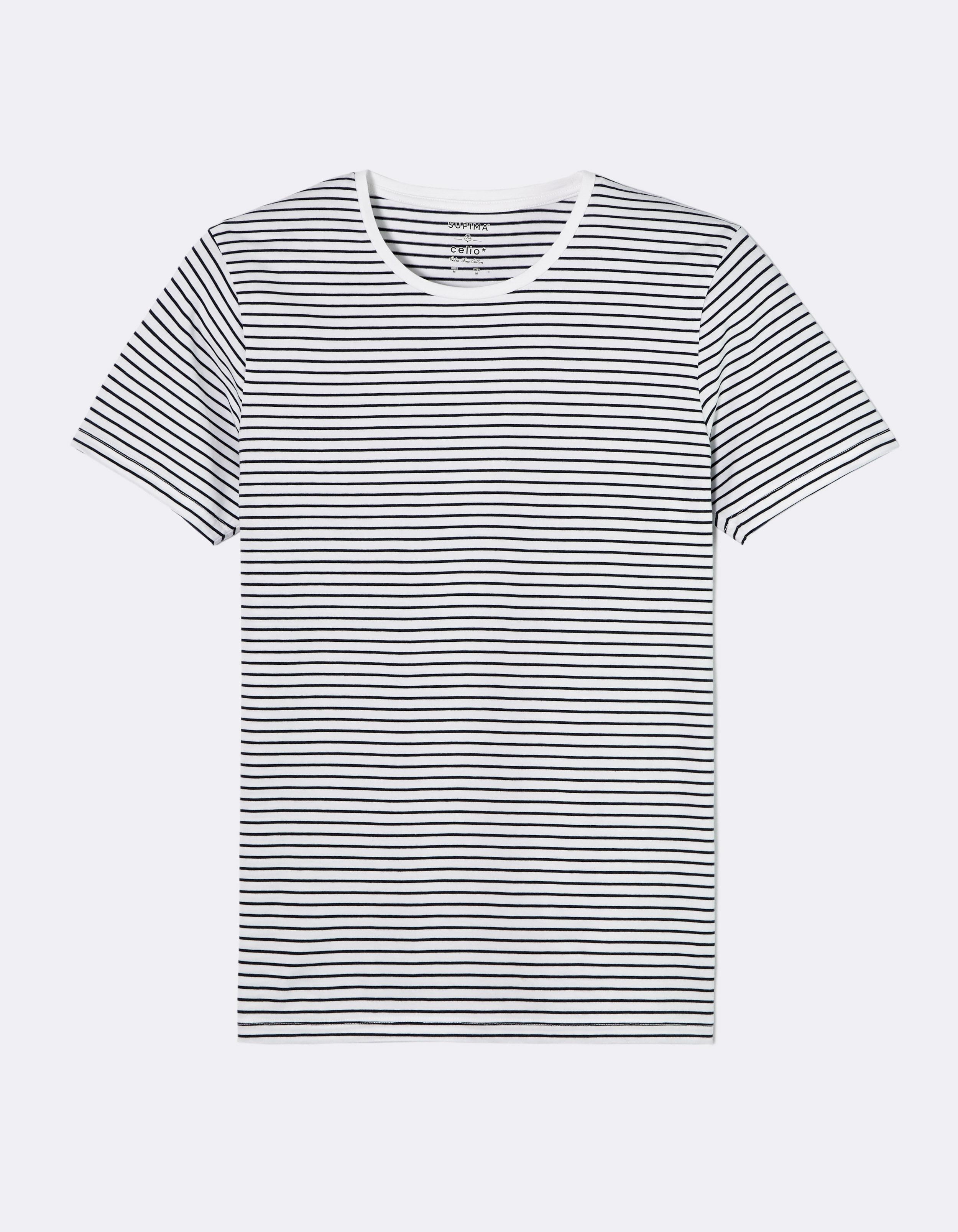 חולצת טי פימה פסים