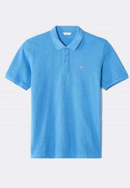 חולצת פולו שרוול קצר מבד כותנה