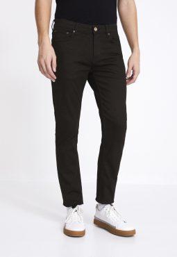 ג'ינס סטרץ' שחור בגזרת regular C5 - פווארפלקס