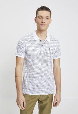 חולצת פולו שרוול קצר פאטרן