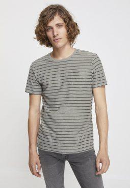 חולצת טי קצרה פסים