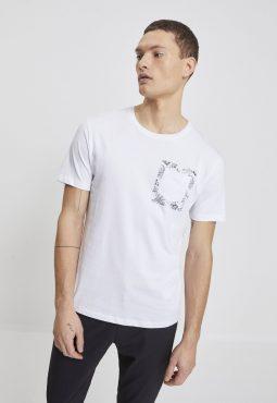 חולצת טי קצרה פרינט