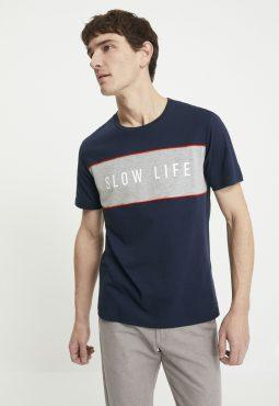חולצת טי 100% כותנה Slow Life