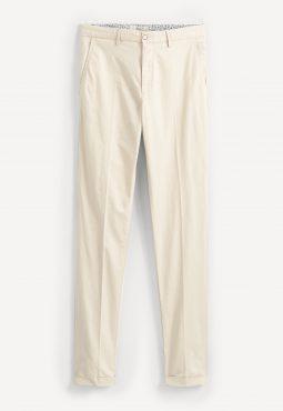 מכנסי צ'ינו כותנה בגזרה צרה