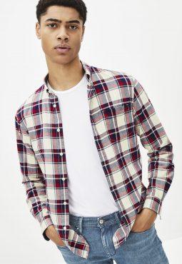 חולצה מכופתרת אוקספורד בגזרה צרה Slim