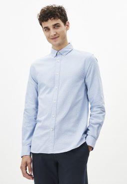 חולצה מכופתרת אוקספורד עם הדפס