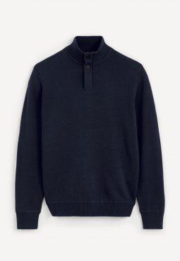 סוודר צווארון גבוה