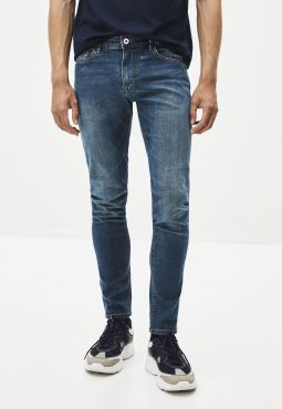 ג'ינס סקיני כחול כהה C45