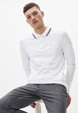 חולצת פולו ג'רזי שרוול ארוך