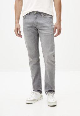 ג'ינס סטרץ' אפור גזרה ישרה C15