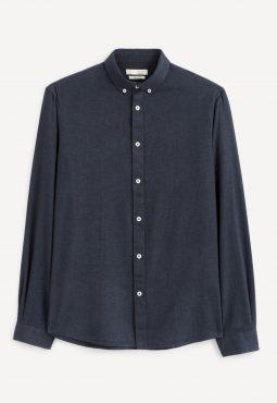 חולצה מכופתרת 100% כותנה, SLIM
