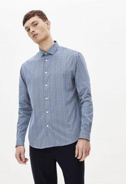 חולצה מכופתרת 100% כותנה, גזרת Regular