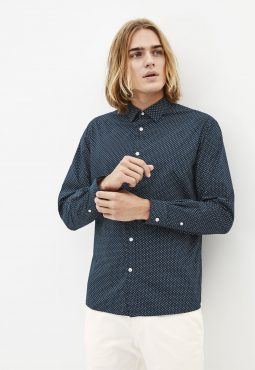 חולצה מכופתרת 100% כותנה, Regular fit