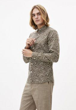 חולצה מכופתרת 100% כותנה, Slim fit