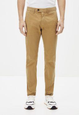 מכנסי צ'ינו בגזרה צרה, 100% כותנה