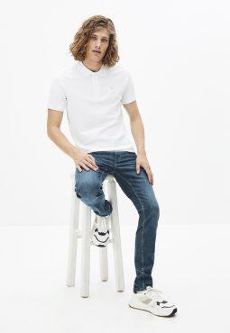 חולצות פולו שרוול קצר, 100% כותנה Supima
