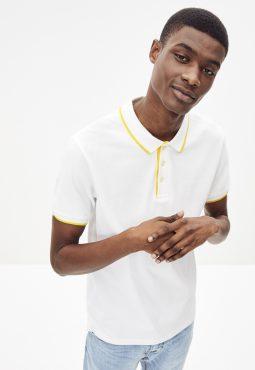 חולצת פולו שרוול קצר, 100% כותנה