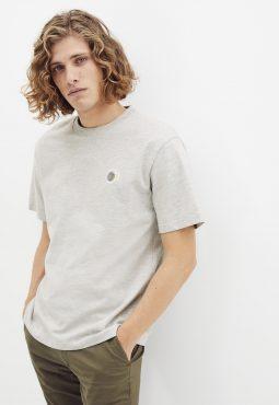 חולצת טי צוורון עגול, 100% כותנה