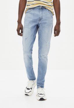 ג'ינס בהיר גזרה צרה C25