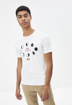 חולצת טי צווארון עגול 100% כותנה, NASA