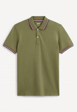 חולצת פולו ג'רזי שרוול קצר