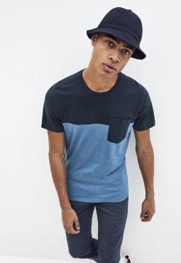 חולצת טי צווארון עגול, 100% כותנה