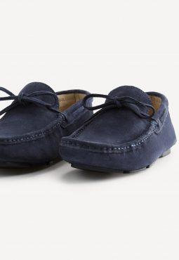 נעלי מוקסין זמש