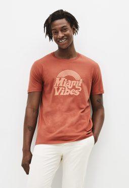 חולצת טי צווארון עגול 100% כותנה