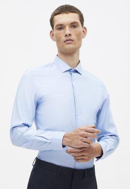 חולצה מכופתרת Coolmax - בד נושם