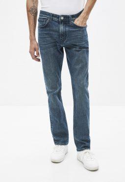 ג'ינס בגזרה ישרה C15, כותנה אורגנית