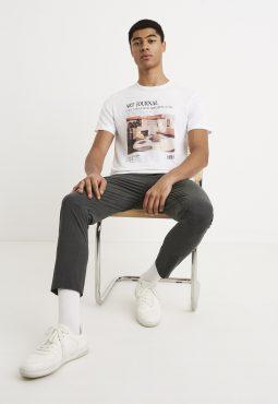 חולצת T צווארון עגול