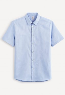 חולצה מכופתרת שרווול קצר
