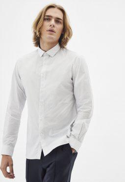 חולצת צווארון איטלקי 100% כותנה