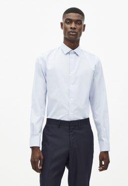חולצה מכופתרת צווארון איטלקי 100% כותנה, EASY IRON