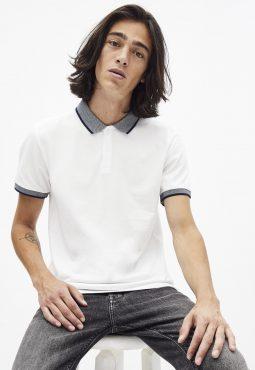 חולצת פולו mélangé