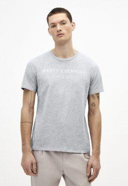 חולצת טריקו צווארון עגול
