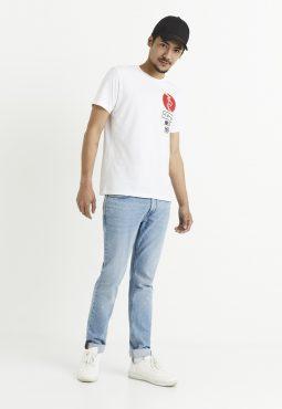 חולצת טי הדפס יפן