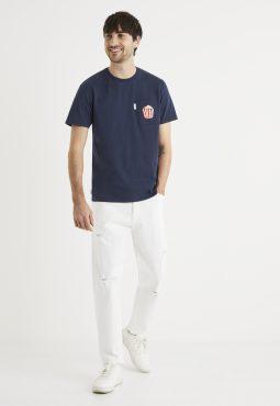 ג'ינס לבן קלאסי,חמישה כיסים