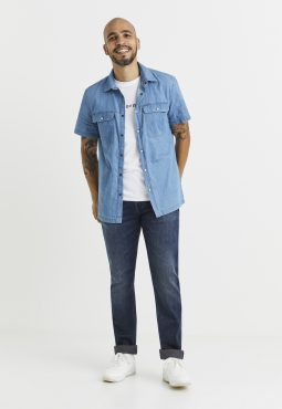 ג'ינס גרסה ישרה 15C