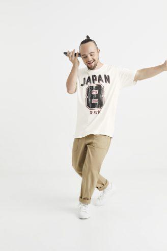 טריקו ספורטיבית - יפן